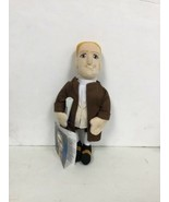"""Revolutionary Patriot Nathan Hale Figure 10"""" Plush. New With Tags A2 - $14.99"""