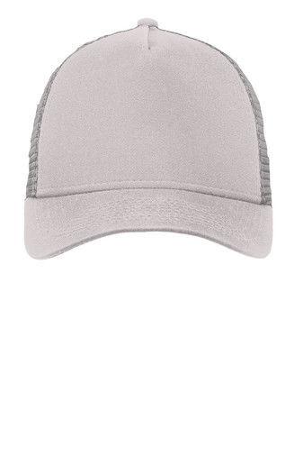 29778a91 New Era 9FORTY Grey/Grey Snapback Trucker Cap Blank 9Forty { Grey/Grey }