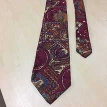 faf32d289e BRIONI Paisley Red Silk Men  39 s Neck Tie Made in Italy Necktie -