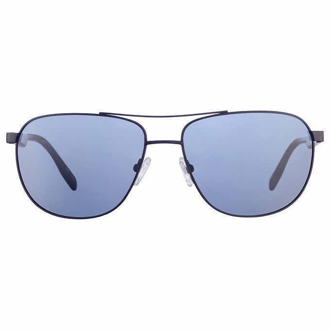 57302baa20 Kirkland Signature Men s Sunglasses Polarized Anti-Reflective 100% UV   Case