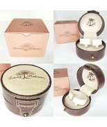 Tommy Bahama Leather Watch Jewelry Case and Official TB Cardboard Storag... - $11.83