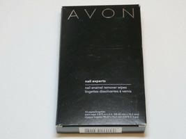 Avon Nail Experts Nail Enamel Remover wipes nail polish mani pedi 10 wipes - $19.79