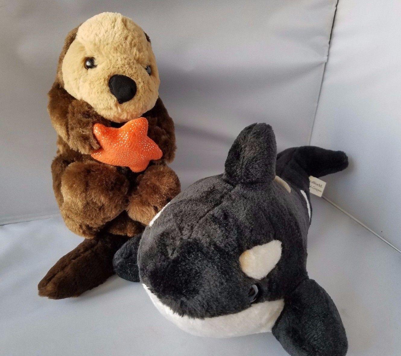 shamu otter plush toy stuffed animal busch and similar items