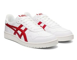 ASICS Tiger Men Court S MEN Shoes Sneakers 1191A212.100 White Speed Red - $84.00
