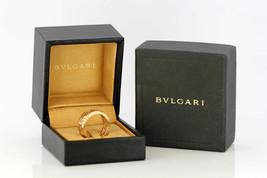 Bvlgari Bulgari 18k gold ring box & papers - $2,540.70