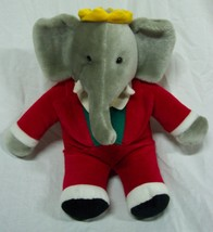 "GUND 1988 BABAR THE ELEPHANT 10"" Plush STUFFED ANIMAL Toy - $24.74"