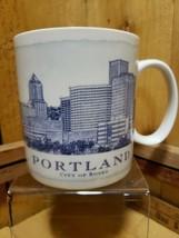 2006 Starbucks PORTLAND City Of Roses Coffee Tea Mug Cup 18oz  - $19.00