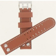 Genuine Hamilton 22mm Light Brown Strap Khaki Aviation Watch Band H60076... - $195.00