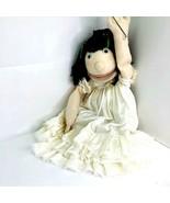 Little Girl Female W Brown Hair Lined Puppet Professional Children's Chu... - $50.34