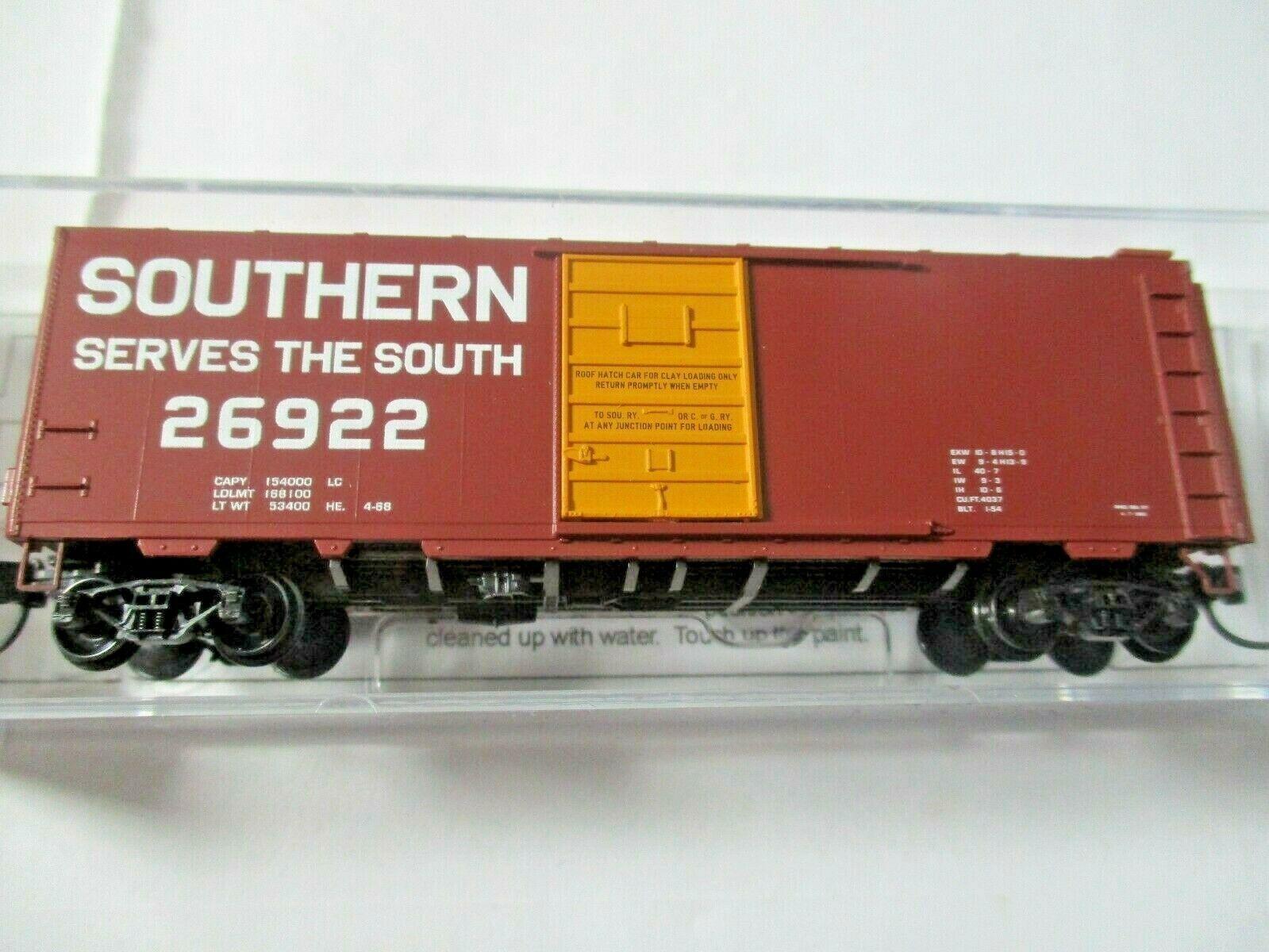 Micro-Trains # 02000257 Southern 40' Standard Boxcar Grain Hauling N-Scale