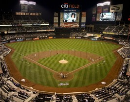 "NY New York Mets Citi Field MLB Baseball Stadium Photo 11""x14"" Print 2 - $24.99"