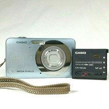 Casio Digital Camera EXILIM EX-Z80A 8.1 Megapixels 3X Optical Zoom Silver - $24.70