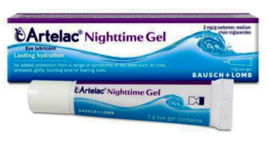 Artelac Nighttime Gel 10g Eye Lubricant for Lasting Hydration - $20.48
