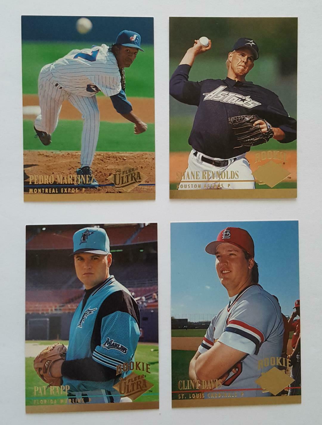 1994 Fleer Ultra + Rookie Card Lot NM Cond w/ Pat Ripp, Clint Davis, Nice Cards