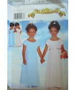 Butterick 4835 Girls IT'S ENCHANTING Dress Size 4 cut - $5.50