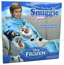 Disney Frozen Snuggie Olaf Blue Fleece Blanket for Kids NEW  - $24.74