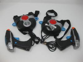 Toymax Laser Challenge Guns & Vests Black/Silver Lot 2 - $29.99