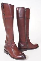 Frye 3476095 Womens Jayden Redwood Bordeaux Leather Button Tall Riding Boots 6.5 - $2.947,21 MXN