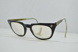 Vintage 50s Bausch & Lomb Aden Optical 6 1/2 US Safety Glasses RX Wrap A... - $94.00