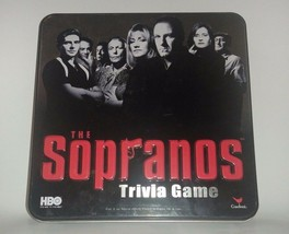 The Sopranos Trivia Adult Board Game 2004 Collectors Tin Complete Game - $7.77