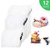 Atopsell Direct Scannable Reusable Mesh Produce Bags 100% Polyester Tran... - $15.50