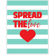 Spread The Love Motivational Wall Art - $6.44+