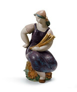 Lladro 01012466 Farm Girl Porcelain Figurine Gres Perfect Condition  - $544.50