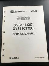 Used OEM 2008 Yamaha Vstar 1300 XVS13AX(C) Service Manual LIT-11616-21-29 - $19.00