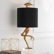 Z Gallerie Hollywood Regency Ibis Table Lamp Heron Crane Bird Table Lamp... - $399.00