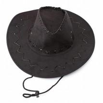 Retro Unisex Denim Wild West Cowboy Cowgirl Rodeo Fancy Dress Accessory ... - $10.38