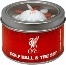 LIVERPOOL FC GOLF GIFT SET. GOLF BALL AND TEES - $23.55