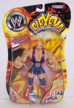 "NEW! 2003 Jakk's Pacific Flex'ems ""Kurt Angle"" Poseable Action Figure WW... - $14.84"