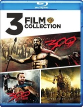 3 Film Collection-300/300 Roe/Troy (Blu-Ray/3 Disc)