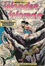 Wonder Woman Comic Book #118, DC Comics 1960 VERY GOOD+ - $87.00