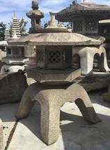 Kaku Yukimi Gata Ishidōrō, Japanese Stone Lantern - YO01010227 - $4,585.97