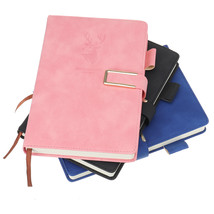 A5 Journal Notebook Faux Leather Magnetic Buckle Book With Lined 416 Page - $31.00