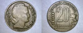 1950 Argentina 20 Centavo World Coin - $5.99