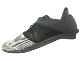 Reebok Womens Size 9 M Running Shoe Fast Flexweave Athletic White ash Grey Black - $57.52