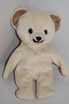 "Lever Brothers SNUGGLE Teddy BEAR 8"" Bean Bag Cream Plush Stuffed 1999 S... - $14.50"