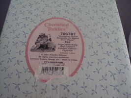 "Enesco Cherished Teddies New In Box ""Everyone Needs Someone To Watch Over Them""  - $40.00"