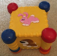 Rare Little Tikes Discover Sound Zoo Motion Cube Teach Develop Learning Toy - $16.83