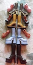 7 Pairs Original Bratz (4 Pairs) Boots, Slippers, Sandals & Shoes - $6.99