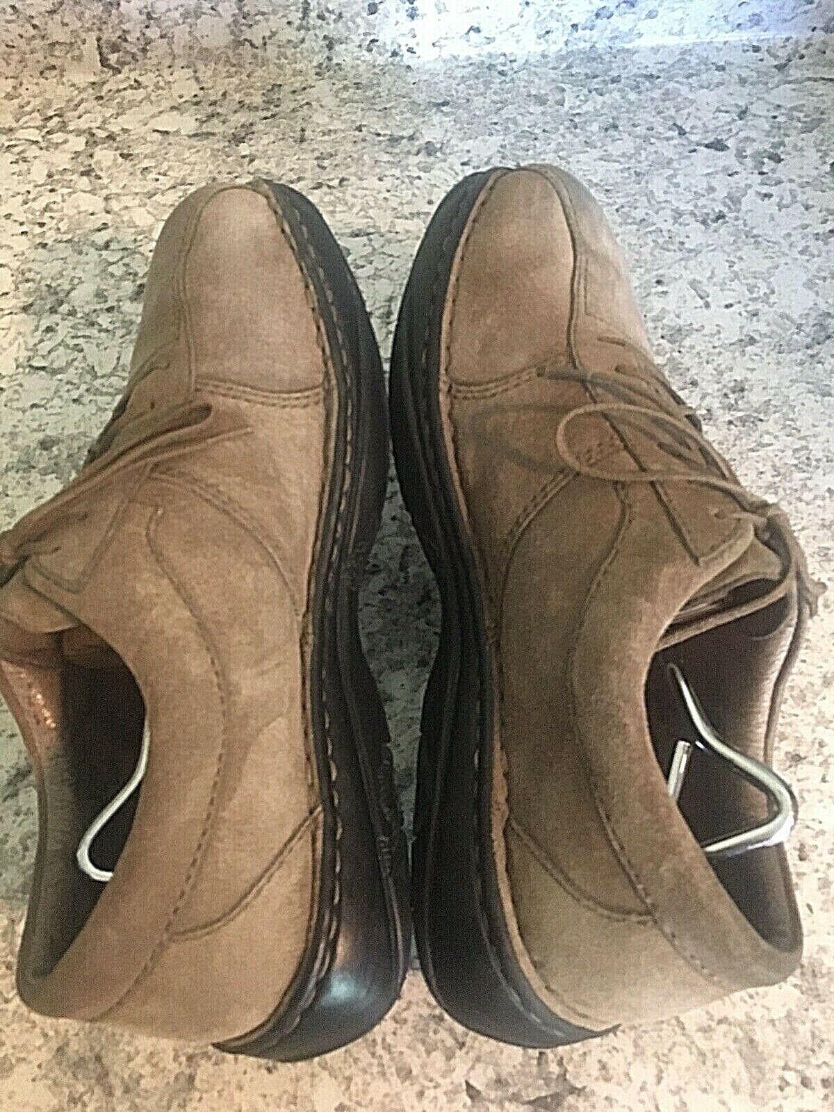 MERRELL World Sport Mud Pie (tan) Suede Leather Shoes Oxfords Lace SIZE 10