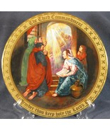 Keep Holy The Lords Day Collector Plate Ten Commandments Mary Mayo Danbu... - $34.95