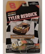 2020 TYLER REDDICK #8 CATERPILLAR NASCAR AUTHENTICS 1:64 W/TEAM TRADING ... - $9.85