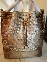 NWT Brahmin Cappuccino Marlowe Bucket Bag - $239.00
