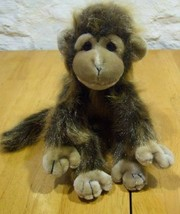"TY FUZZY CUTE MONKEY 9"" Plush STUFFED ANIMAL Toy - $17.33"
