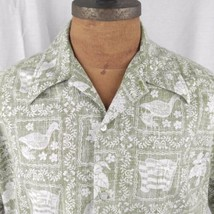 Reyn Spooner Reverse Print Lahiana Sailor Hawaiian Aloha Shirt Nene Bird... - $55.43