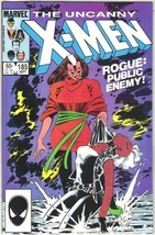 The Uncanny X-Men Comic Book #185 Marvel Comics 1984 VERY FINE/NEAR MINT... - $6.89