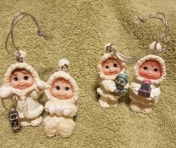 Dreamsicles Miniature Christmas Holiday Tree Ornaments - $19.50